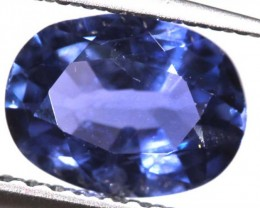 CERTIFIED BLUE SRILANKA SAPPHIRE UNTREATED 1.37 CTS  TBM-1410CDS0514