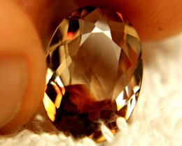 7.67 Carat Golden Brown Topaz - Beautiful