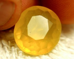 9.40 Carat Shimmering Yellow Mexico Fire Opal