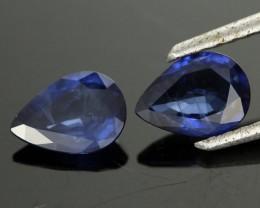 1.93cts Vibrant Blue Australian Sapphire Pair (RSA232)