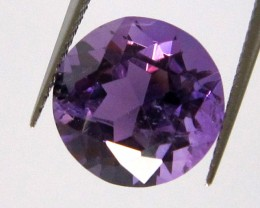 5.32cts Purple Amethyst Round Shape