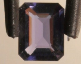 1.56ct Emerald Cut Amethyst
