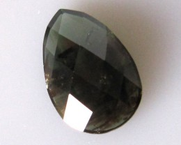 5.30cts Natural Australian Sapphire Pear Checker Board Cut