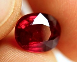 3.62 Carat Fiery Pigeon Blood Ruby - Superb