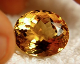 18.93 Carat 100% Natural Brazil VVS1 Citrine - Gorgeous