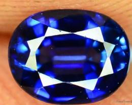Top Luster 0.45 ct Rarest Blue Kashmir Sapphire ~ Pakistan L.4