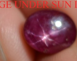 4.20 Carats Star Ruby Beautiful Natural Unheated & Untreated
