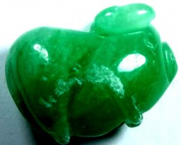 NATURAL JADE CARVING  20.5 CTS LG-401