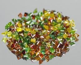 Natural Fancy Colored Diamonds 0.23 Cts Parcel - NR Auction