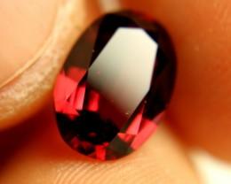 3.85 Carat Flashy African Rhodolite Garnet - Beautiful