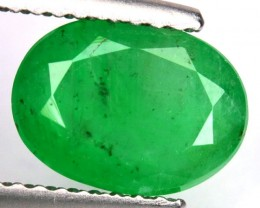 1.77 Cts Natural Colombian Green Emerald - GEMEX