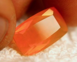 6.43 Carat Transparent/Translucent Orange Fire Opal