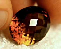 31.95 Carat Golden Brown South American VVS1 Topaz