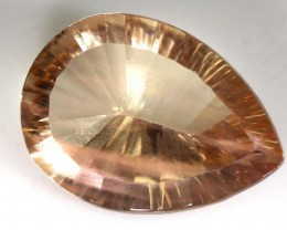 RARE  SUNSTONE ORANGE SHILLER COLOUR  7.6  CTS TBM-419
