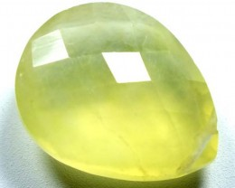 PREHNITE CARVED BEAD   6.30  CTS   LG-473