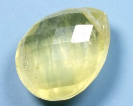 PREHNITE CARVED BEAD   4.30   CTS   LG-477