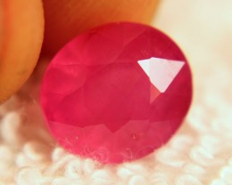 6.0 Carat Transparent Translucent Pink Ruby - Lovely