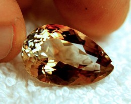 17.16 Carat VVS1 Brazil Golden Brown Topaz