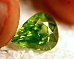 5.36 Carat Vibrant Green SI Russian Sphene - Beautiful