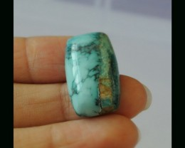Natural Turquoise Cabochon - 24x13x9 MM