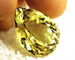 28.17 Carat African VVS1 Lemon Quartz