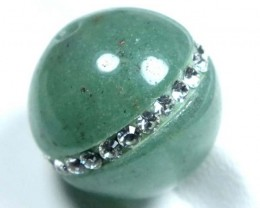 JADE BEADS DRILLED  20 CTS   NP-517