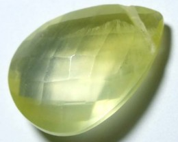 PREHNITE CARVED BEAD  6.30   CTS   LG-508