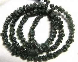 BLACK DIAMONDS GENUINE NATURAL STRAND 45 CTS TBG-64