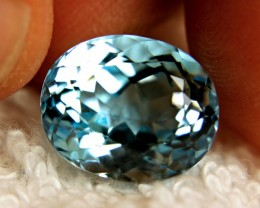 14.28 Carat IF/VVS1 Blue Brazil Topaz - Gorgeous