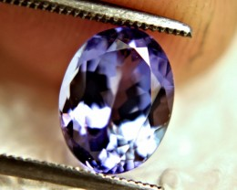 CERTIFIED - 2.77 Carat Purplish Blue African VVS1 Tanzanite