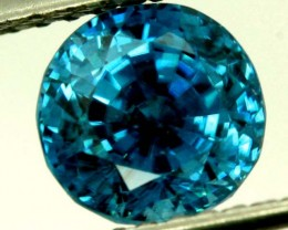 CERTIFIED ZIRCON CAMBODIA  3.69 CTS TBM-432