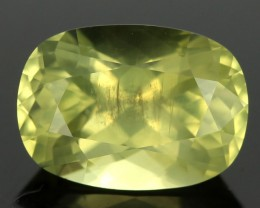 2.07cts Transparent Yellow Chrysoberyl (RCB6)