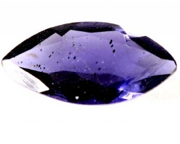 TANZANITE FACETED VIOLET BLUE 0.80CTS RNG-117