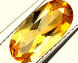 CITRINE NATURAL FACETED HIGH CLARITY 1.9CTS ADG-614