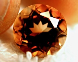 8.42 Carat VVS Golden Brown South American Topaz - Superb