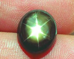 5.88 Carat Thailand Black Star Sapphire