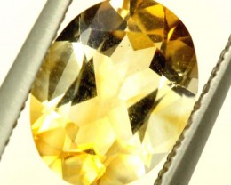 CITRINE NATURAL FACETED HIGH CLARITY 1.40CTS ADG-652