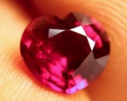 2.52 Carat Fiery VS Ruby Heart - Beautiful