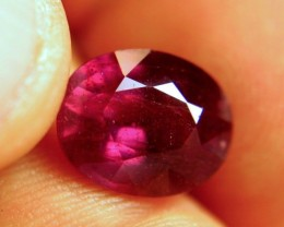 7.10 Carat Vibrant Red Ruby - Gorgeous