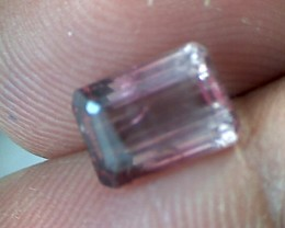 1.55ct Bi Color Emerald Cut Tourmaline AA234
