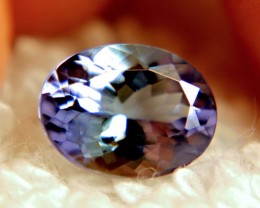 1.56 Carat VVS Blue African Tanzanite - Superb