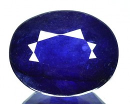 3.85 Cts Natural SriLankan Blue Sapphire - GEMEX - NR Auction