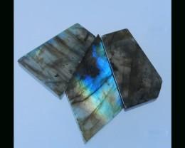 Sparkle Labradorite Beads Strand For Necklace - 42x22x6.5 MM,30X17X7 MM,115