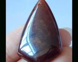 100% Natural Garnet Pendant Bead -  36x24x10 MM,67.5 Cts