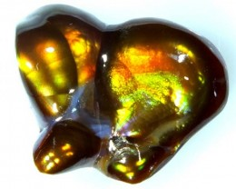 FIRE AGATE CARVED 9.9   CTS PG-1581