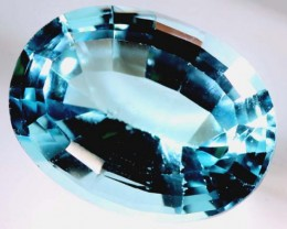 BLUE TOPAZ   11  CTS  PG-1644
