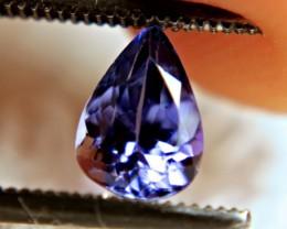 1.0 Carat Vibrant Blue VVS African Tanzanite