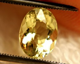 2.15 Carat Vibrant VVS Yellow Beryl - Gorgeous
