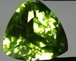 Trillion Peridot 2.45ct