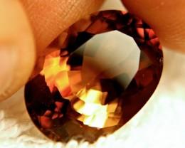 16.02 Carat VVS Golden Amber Citrine - Gorgeous